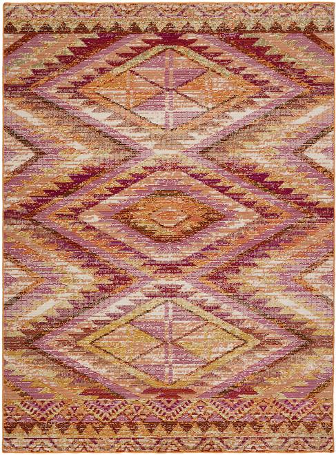 Jaipur Living Decca Tribal Orange-Multicolor Area Rug  - JAI-Orange RHN06