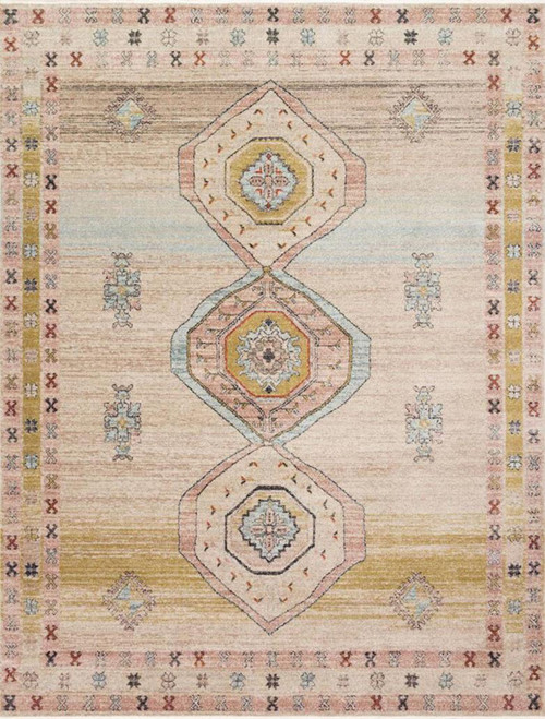 Magnolia Home Graham GRA-04 Antique Ivory Multi by Joanna Gaines