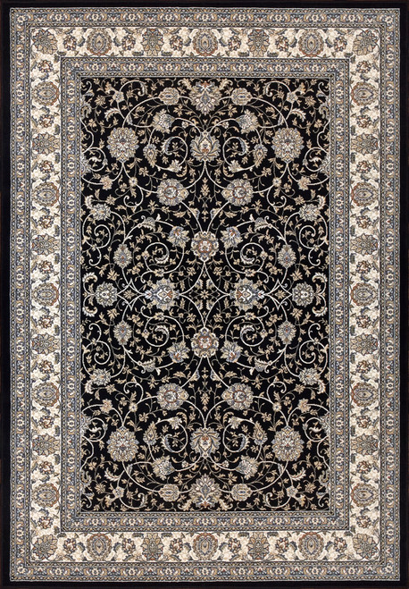 Dynamic Rugs Ancient Garden 57120-3464 Blue/Ivory