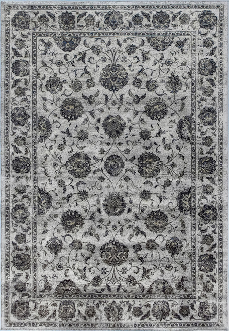 Dynamic Rugs Ancient Garden 57126-3636 Charcoal/Silver