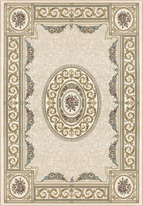 Dynamic Rugs Ancient Garden 57226-6464 Ivory