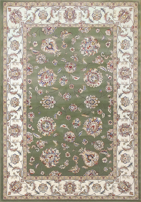 Dynamic Rugs Ancient Garden 57365-4464 Green/Ivory
