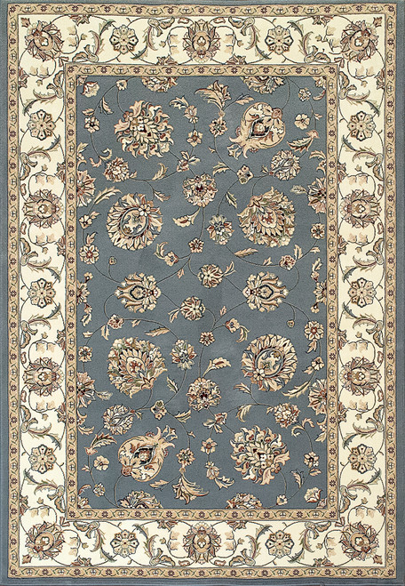 Dynamic Rugs Ancient Garden 57365-5464 Light Blue/Ivory