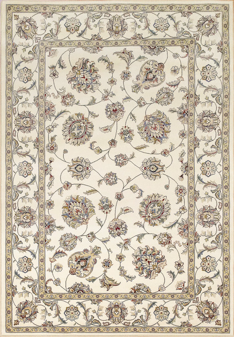 Dynamic Rugs Ancient Garden 57365-6464 Ivory/Ivory