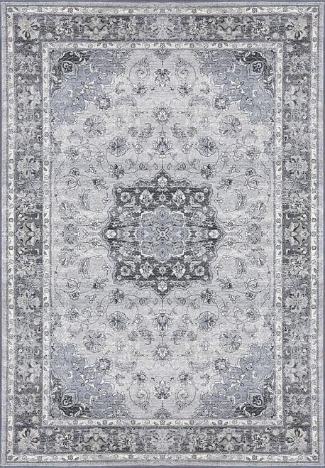 Dynamic Rugs Ancient Garden 57559-9656 Silver/Grey