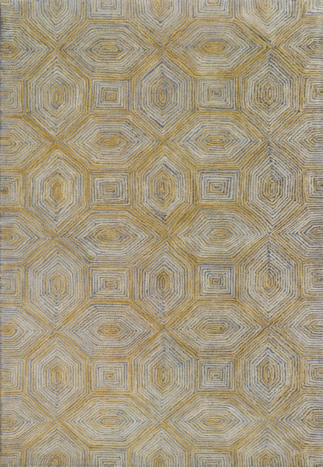 Dynamic Rugs Ariana 8181-790 Gold/Dark Grey