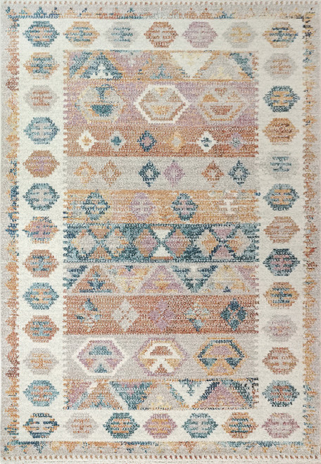 Dynamic Rugs CobaLight 7341-999 Multi Traditional