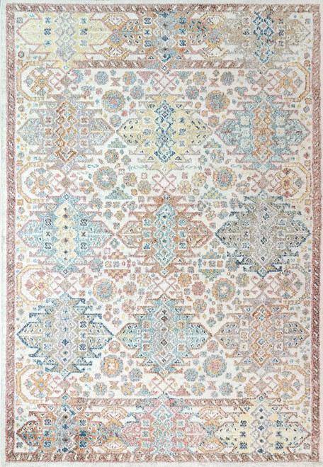 Dynamic Rugs CobaLight 7344-999 Multi Traditional