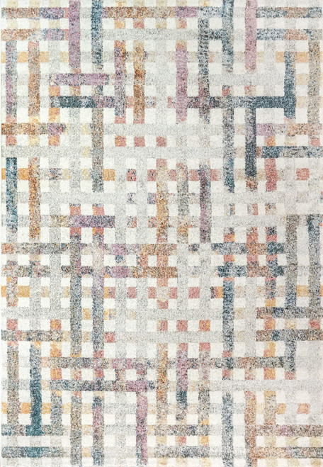 Dynamic Rugs CobaLight 7346-999 Multi Traditional