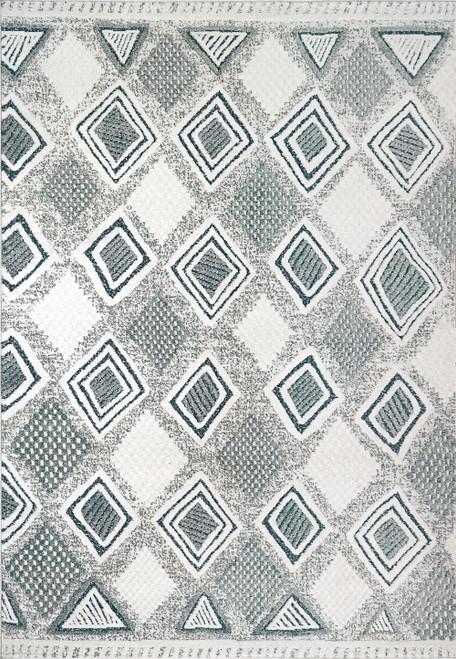 Dynamic Rugs Myth 7295-159 Cream/Blue/Light Grey Traditional