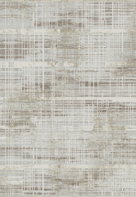Dynamic Rugs Wingo 7962-800 Cream/Taupe