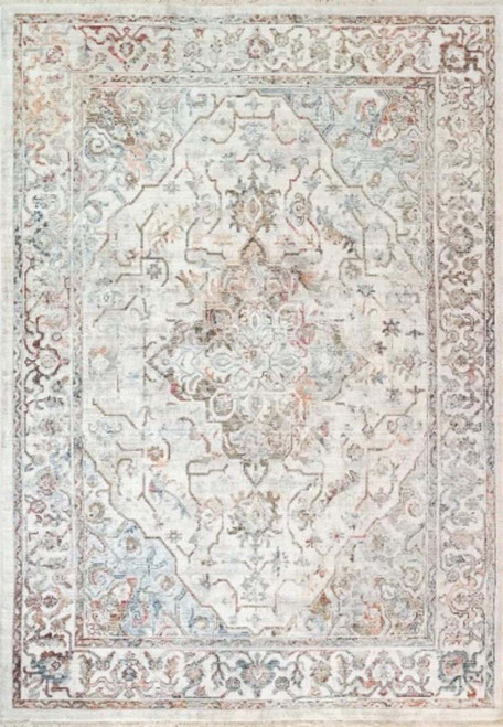 Dynamic Rugs Mood 8457-351 Red/Blue/Ivory