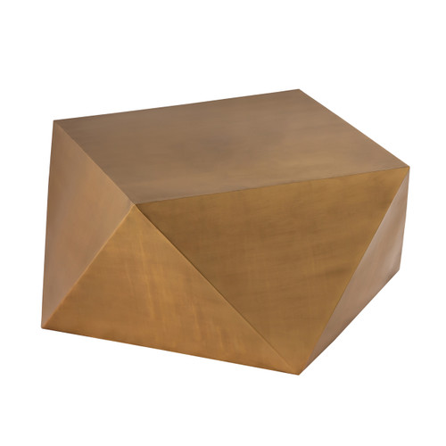 Pasargad Home Dimitri Coffee Table (Brass color)