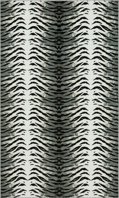 Karastan Kalahari ZC001 A431 Tiger Skin Gray