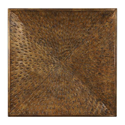 Uttermost Blaise Antiqued Bronze Wall Art