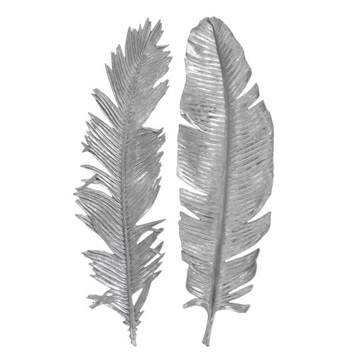Uttermost Sparrow Silver Wall Decor S/2