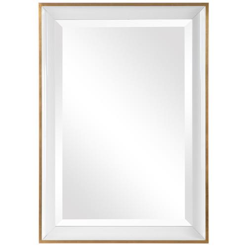 Uttermost Gema White Mirror