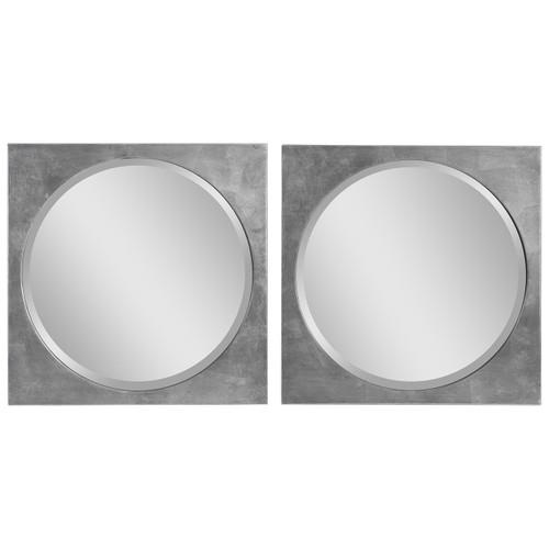 Uttermost Aletris Modern Square Mirrors, S/2