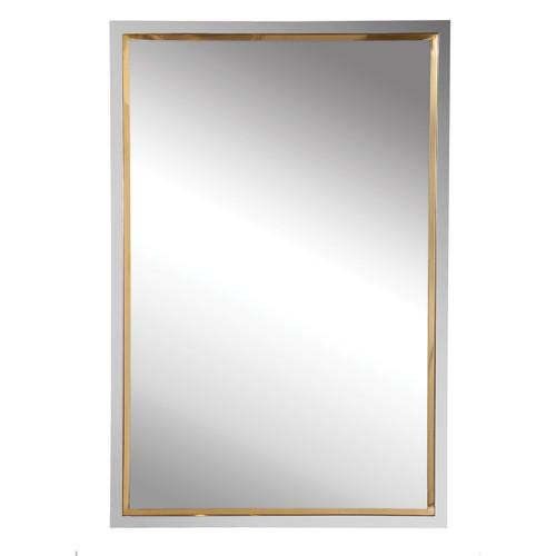 Uttermost Locke Chrome Vanity Mirror