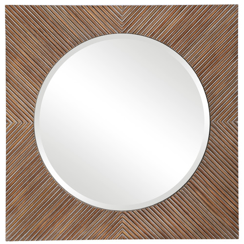 Uttermost Uma Wooden Square Mirror