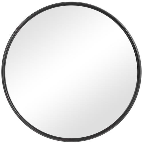 Uttermost Belham Round Iron Mirror