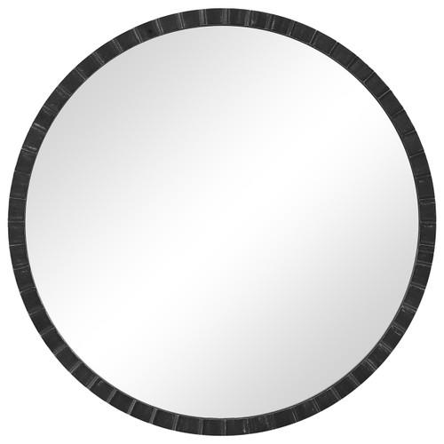 Uttermost Dandridge Round Industrial Mirror