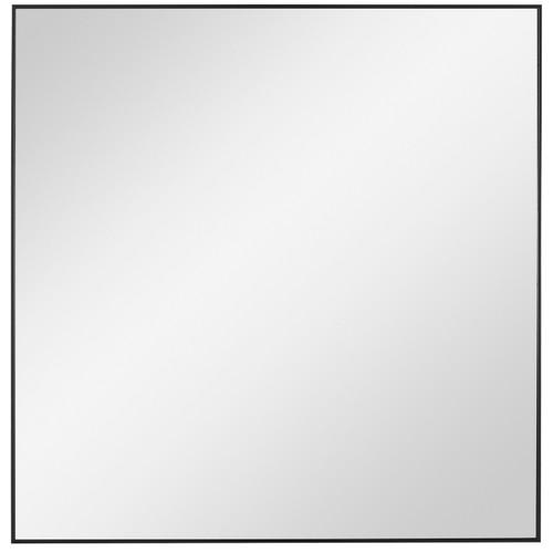Uttermost Alexo Black Square Mirror