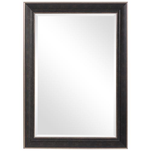 Uttermost Mercer Dark Bronze Traditional Mirror