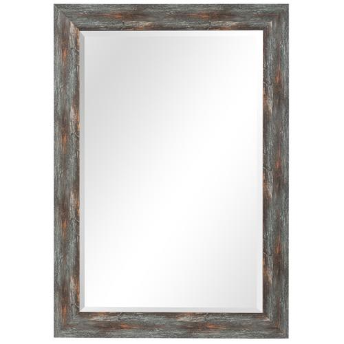 Uttermost Owenby Rustic Silver & Bronze Mirror