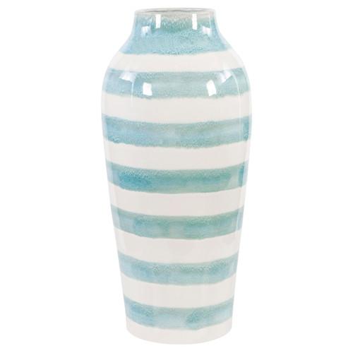 Uttermost Ortun Striped Vase