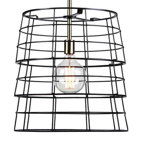 Uttermost Grader 1 Light Cage Pendant