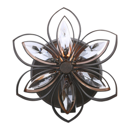 Uttermost Posey 1 Light Floral Sconce
