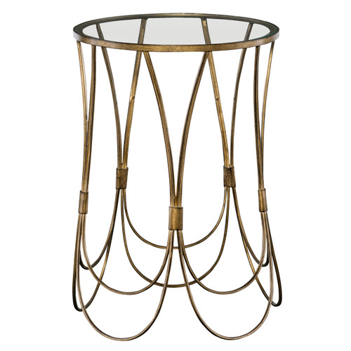 Uttermost Kalindra Gold Accent Table