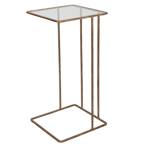 Uttermost Cadmus Gold Accent Table