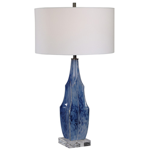 Uttermost Everard Blue Table Lamp