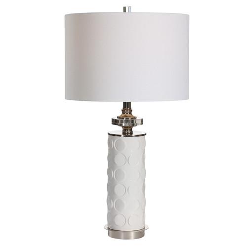 Uttermost Calia White Table Lamp