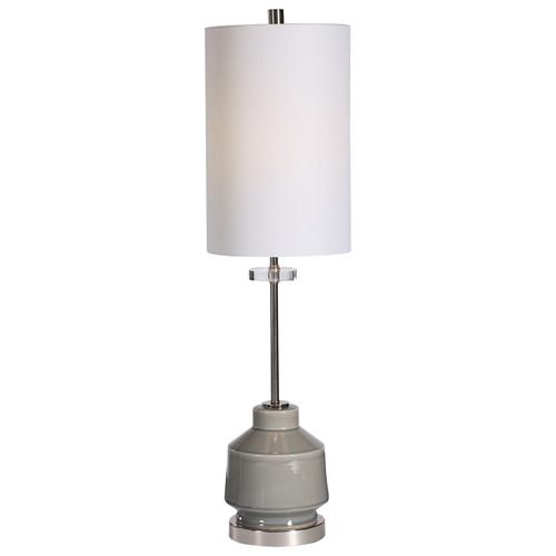 Uttermost Porter Warm Gray Buffet Lamp