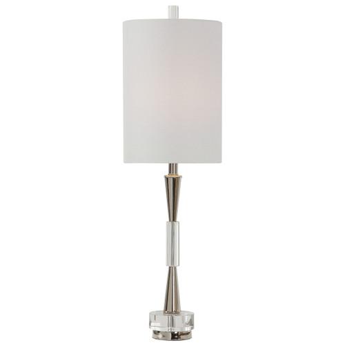 Uttermost Azaria Polished Nickel Buffet Lamp