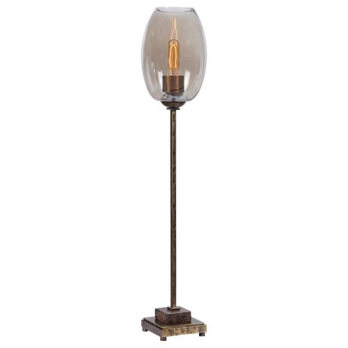 Uttermost Marconi Brass Buffet Lamp