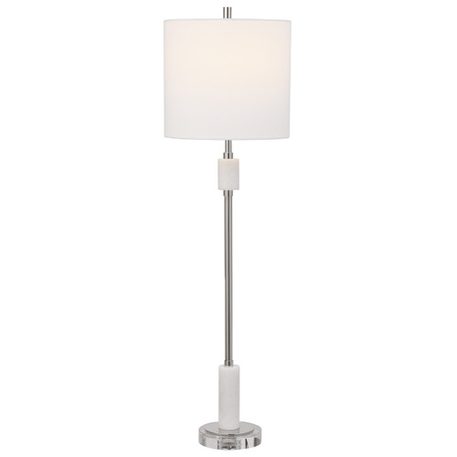 Uttermost Sussex Nickel Buffet Lamp
