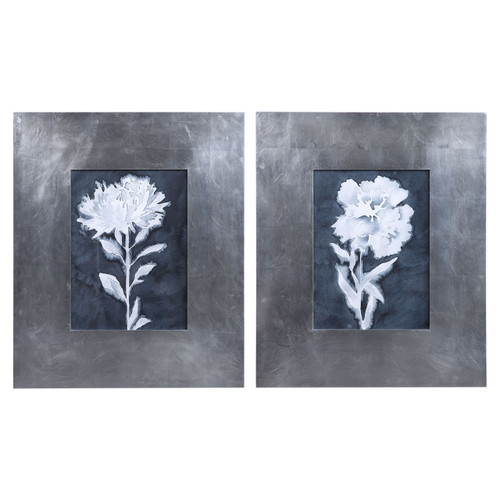 Uttermost Dream Leaves Floral Prints, S/2