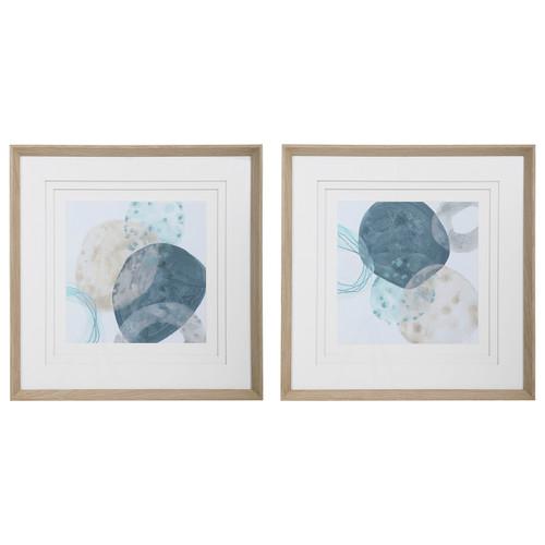 Uttermost Circlet Modern Prints, S/2