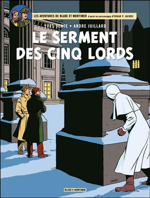 Blake et Mortimer, tome 21 : Le serment des cinq lords