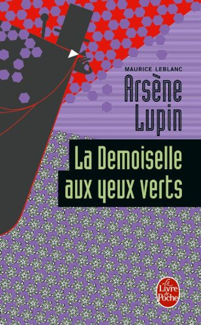 French book Arsene Lupin: La demoiselle aux yeux verts