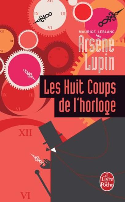 French book Les huits coups de l'horloge