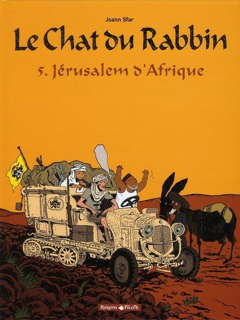 Le Chat du rabbin, tome 5 : Jerusalem d'Afrique