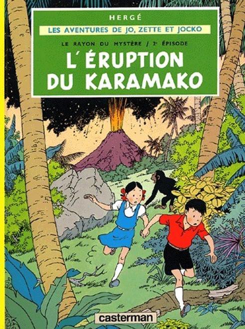 L'eruption du Karamako - une aventure de Jo, Zette et Jocko (T4)