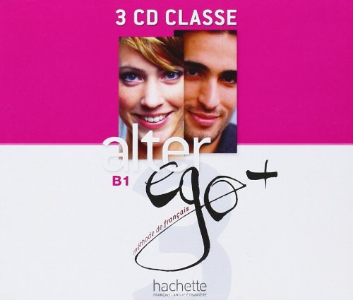 Alter Ego Niveau 3 + (PLUS)  CD audio Classe (3)