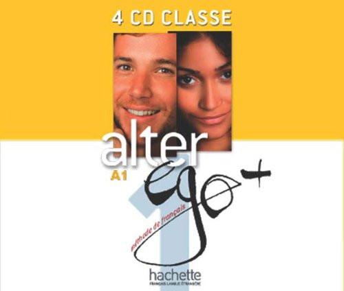 Alter Ego Niveau 1 + (PLUS)  CD audio Classe (4)