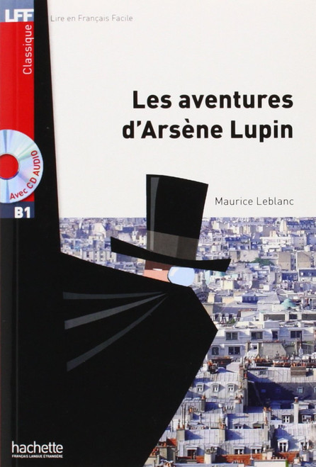 Les aventures d'Arsene Lupin (with CD audio MP3) - Dumas - Easy reader B1
